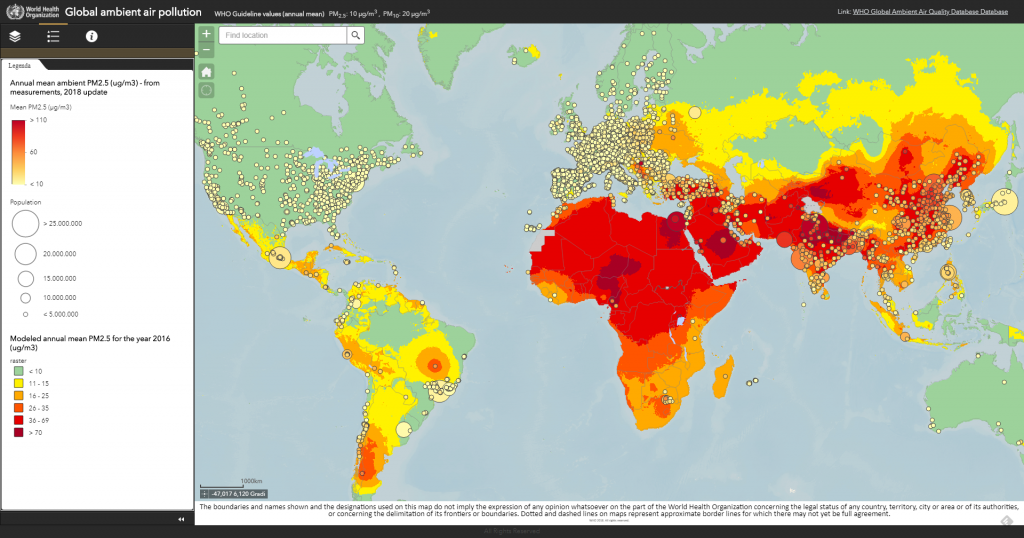 Oms Map Pollution